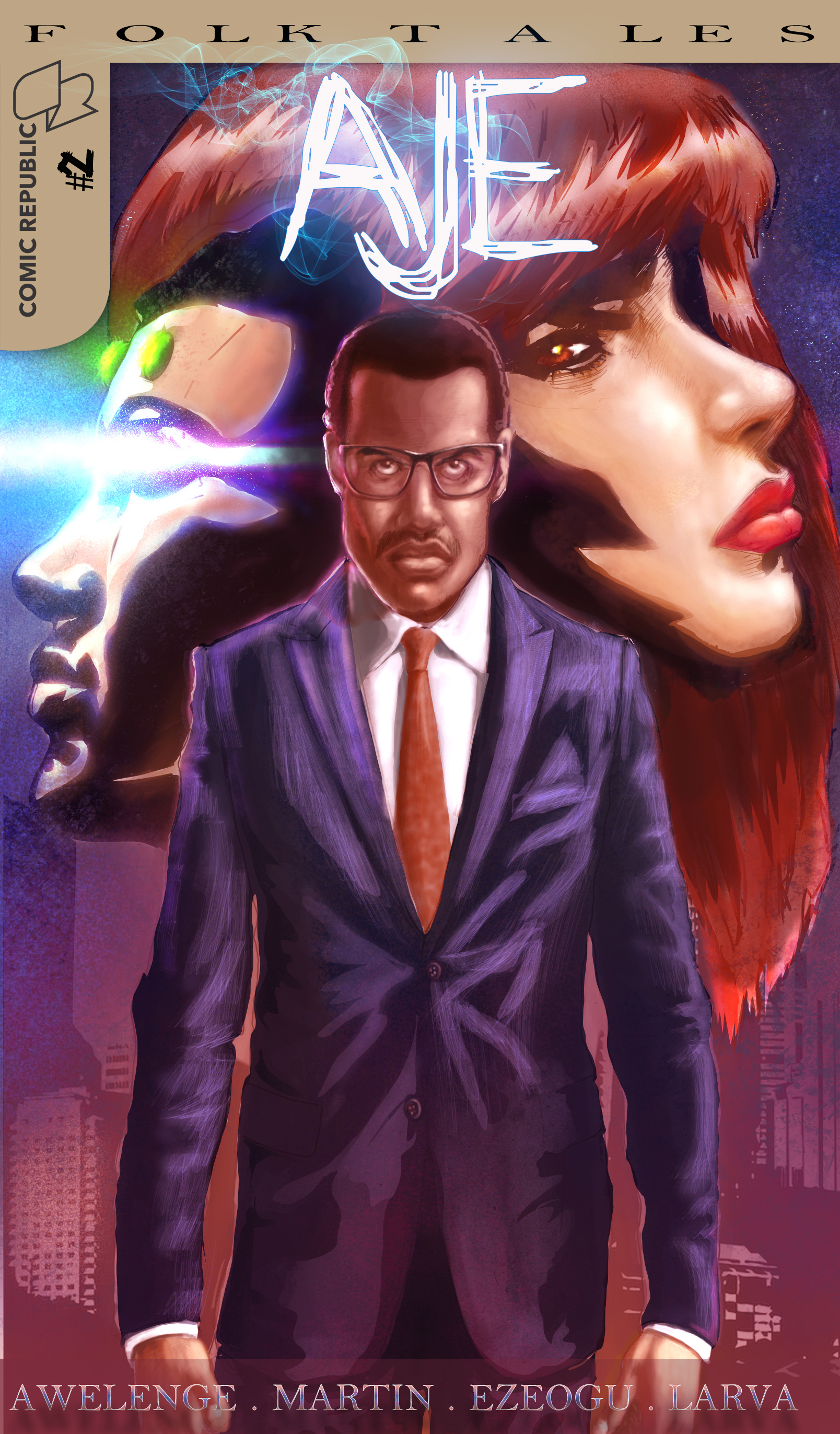 Visibility for African Superhero comics